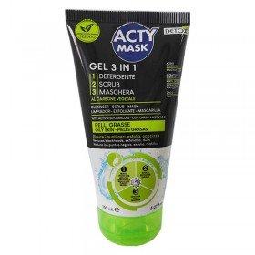 Acty Mask Gel facial 3en1 anti puntos negros 150ml