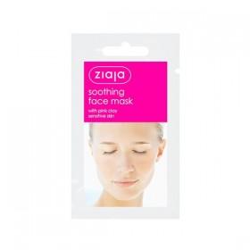 Ziaja Mascarilla facial calmante de arcilla rosa 20 uds