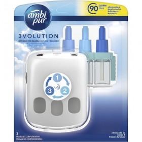 Ambi Pur 3Volution ambientador eléctrico Aire Fresco + 3 recambios 21 ml