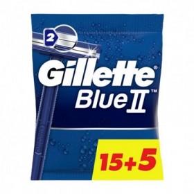 Gillette Blue II cuchillas desechables 15+5 ud
