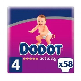 Dodot Activity T4 pañales para bebés 9-14kg  58uds