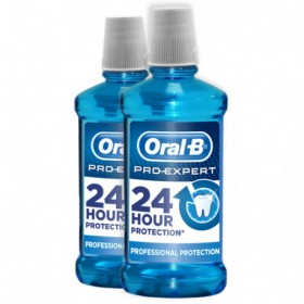 Oral B Pro-Expert Enjuague bucal 24h 2x500 ml