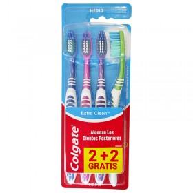 Colgate Ceplillo de dientes Extra Clean dureza media