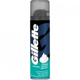 Gillette Espuma de afeitar para piel sensible 200ml