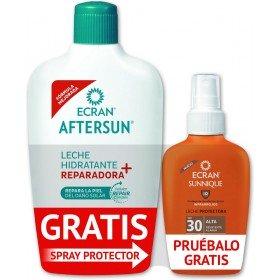 Ecran Aftersun 400ml + Leche Protectora SPF30 100 ml