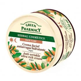Green Pharmacy Crema antiarrugas para piel seca 150ml