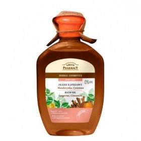 Green Pharmacy Aceite de baño mandarina y canela 250ml