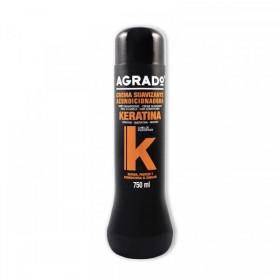 Agrado crema suavizante y acondicionador keratina 750ml