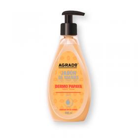 Agrado jabón de manos dermo de Papaya 500ml
