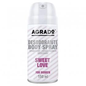 Agrdo desodorante spray Sweet Love 210 cc