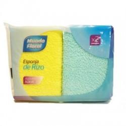 Esponja de baño rizo. Caja 28 uds
