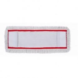 Recambio mopa plana industrial algodón para soporte abatible 60 cms