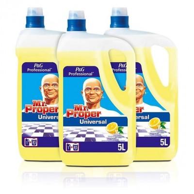 Don Limpio desinfectante multiusos 5 litros. Caja de 3 uds