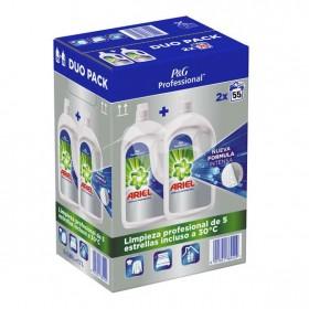 Ariel detergente líquido regular para lavadora 3.025 litros. Caja 2 uds