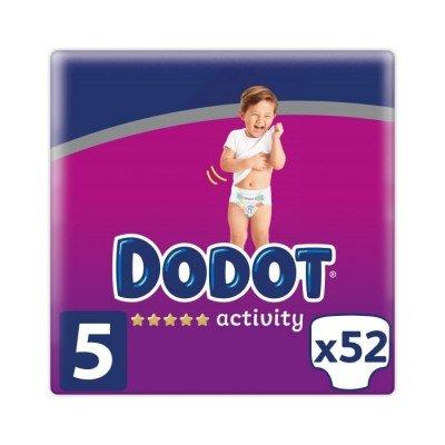 Dodot Activity T5 pañales para bebés 11-16kg 52uds