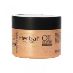 Herbal Originals mascarilla intensiva con aceite de Argán y Phyto Keratina 300 ml