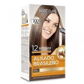 Kativa Kit Alisado brasileño en casa