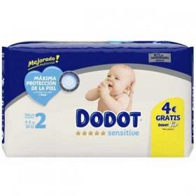 Dodot Sensitive recién nacidos Talla 2 (4-8 kg) - 39 uds